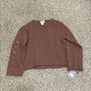 NWT Shrinking Violet Sweater